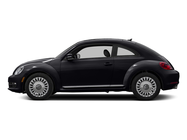 Deep Black Pearl 2016 Volkswagen Beetle Coupe Pictures Beetle Coupe 2D R-Line SEL I4 Turbo photos side view
