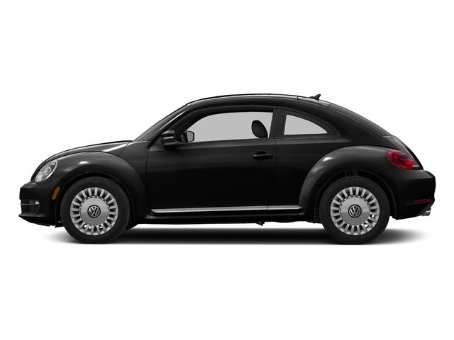 Black Uni 2016 Volkswagen Beetle Coupe Pictures Beetle Coupe 2D SE I4 Turbo photos side view