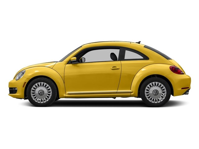 Yellow Rush 2016 Volkswagen Beetle Coupe Pictures Beetle Coupe 2D SE I4 Turbo photos side view