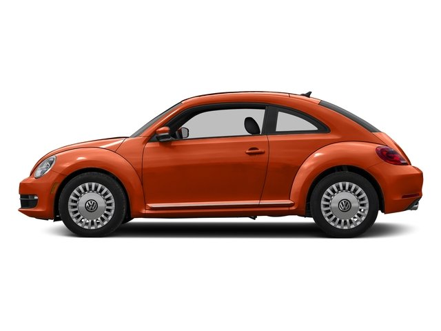 Habanero Orange Metallic 2016 Volkswagen Beetle Coupe Pictures Beetle Coupe 2D R-Line SEL I4 Turbo photos side view