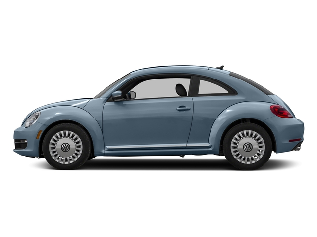 Denim Blue 2016 Volkswagen Beetle Coupe Pictures Beetle Coupe 2D R-Line SEL I4 Turbo photos side view