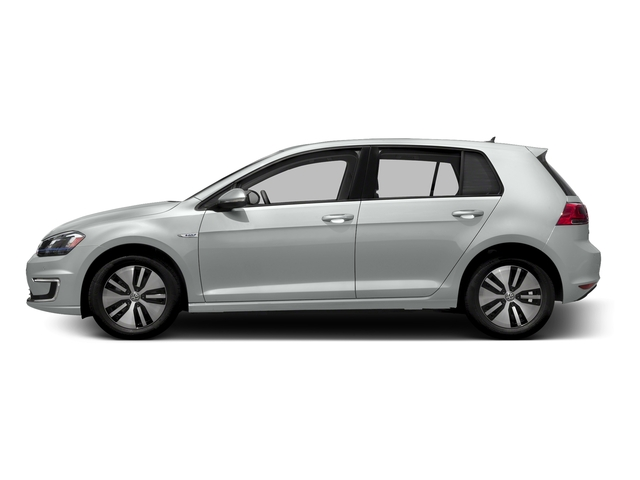 Pure White 2016 Volkswagen e-Golf Pictures e-Golf Hatchback 4D e-Golf SEL Electric photos side view