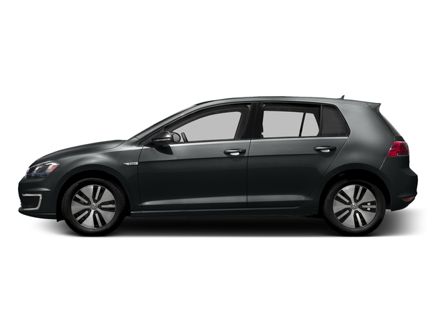 Urano Grey 2016 Volkswagen e-Golf Pictures e-Golf Hatchback 4D e-Golf SEL Electric photos side view