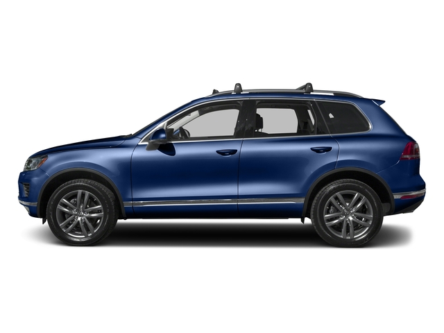 Reef Blue Metallic 2016 Volkswagen Touareg Pictures Touareg Utility 4D Executive AWD V6 photos side view