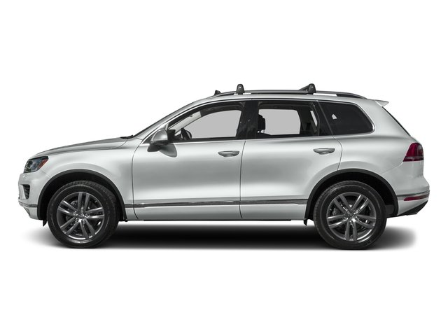 Pure White 2016 Volkswagen Touareg Pictures Touareg Utility 4D Executive AWD V6 photos side view