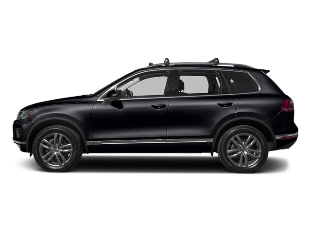 Deep Black Pearl 2016 Volkswagen Touareg Pictures Touareg Utility 4D Executive AWD V6 photos side view