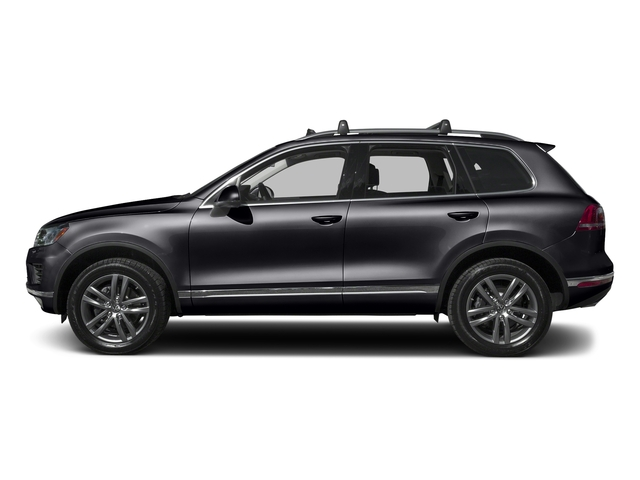 Dark Flint Gray Metallic 2016 Volkswagen Touareg Pictures Touareg Utility 4D Executive AWD V6 photos side view