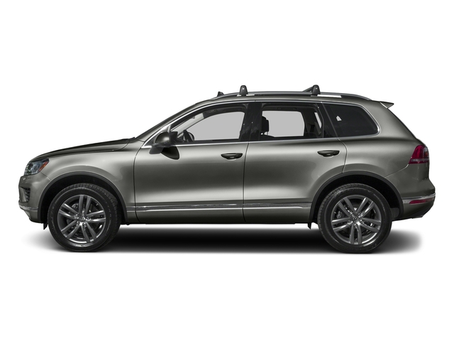 Canyon Gray Metallic 2016 Volkswagen Touareg Pictures Touareg Utility 4D Executive AWD V6 photos side view
