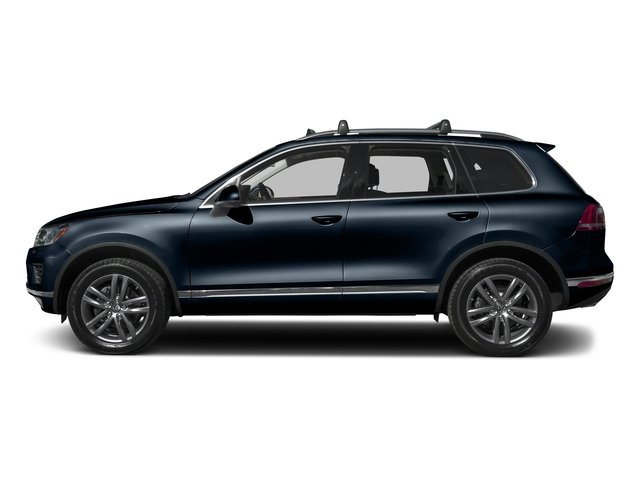 Moonlight Blue Pearl 2016 Volkswagen Touareg Pictures Touareg Utility 4D Executive AWD V6 photos side view