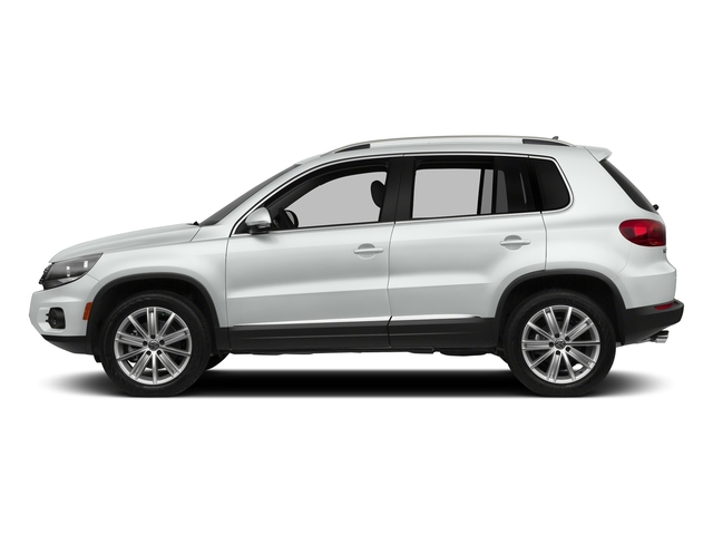Pure White 2016 Volkswagen Tiguan Pictures Tiguan Utility 4D SEL AWD I4 Turbo photos side view