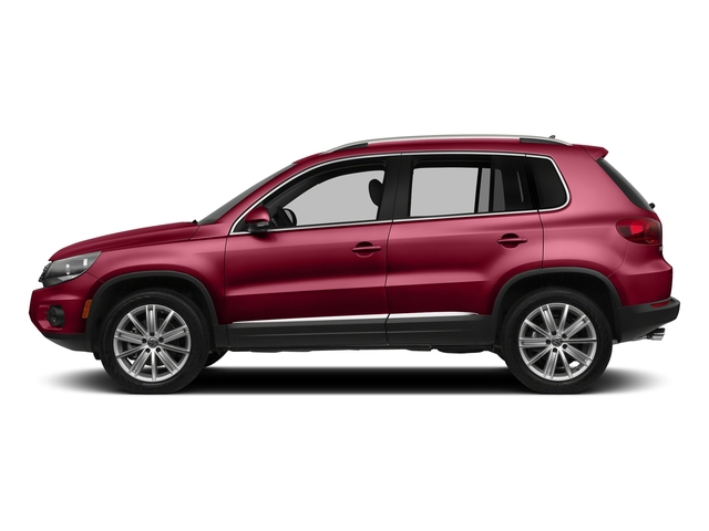 Wild Cherry Metallic 2016 Volkswagen Tiguan Pictures Tiguan Utility 4D SEL AWD I4 Turbo photos side view