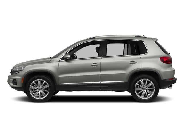 Reflex Silver Metallic 2016 Volkswagen Tiguan Pictures Tiguan Utility 4D SE 2WD I4 Turbo photos side view