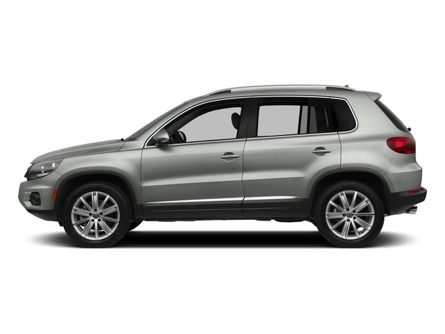 Reflex Silver Metallic 2016 Volkswagen Tiguan Pictures Tiguan Utility 4D SEL AWD I4 Turbo photos side view