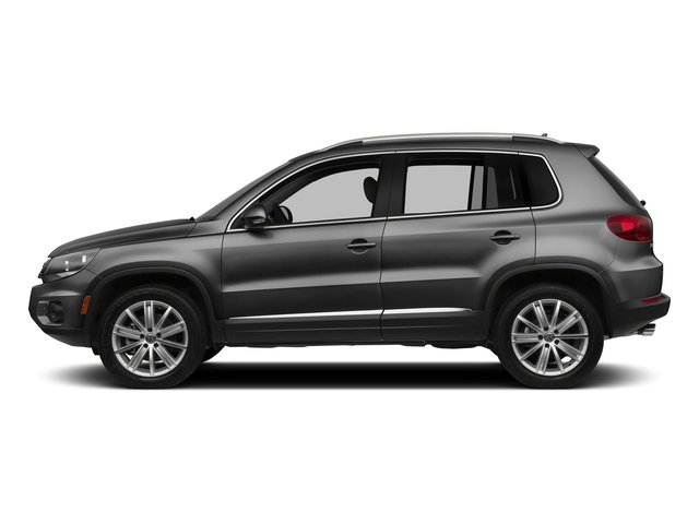 Panther Gray Metallic 2016 Volkswagen Tiguan Pictures Tiguan Utility 4D SEL AWD I4 Turbo photos side view