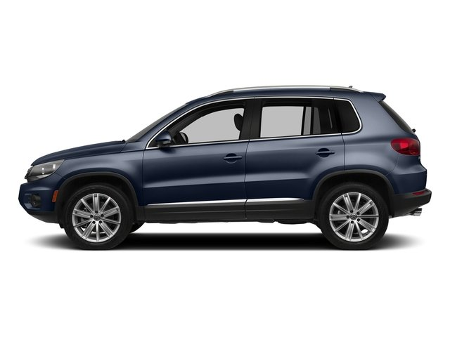 Night Blue Metallic 2016 Volkswagen Tiguan Pictures Tiguan Utility 4D SEL AWD I4 Turbo photos side view