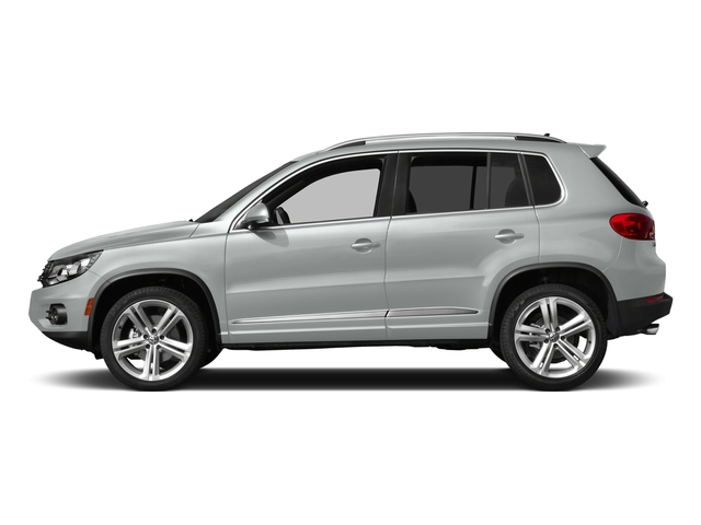 Pure White 2016 Volkswagen Tiguan Pictures Tiguan Utility 4D R-Line 2WD I4 Turbo photos side view