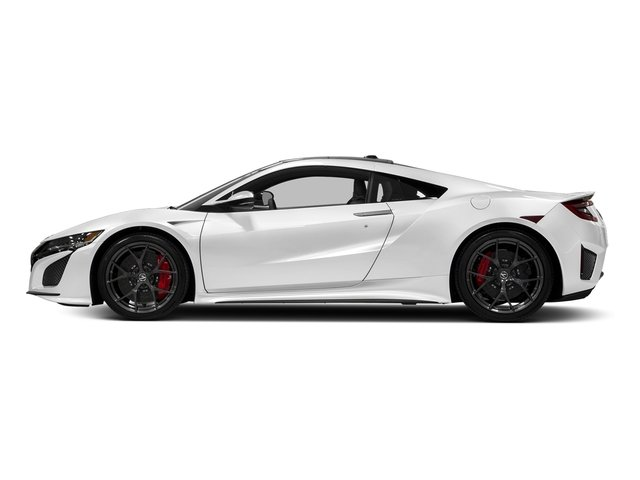 130R White 2017 Acura NSX Pictures NSX Coupe photos side view