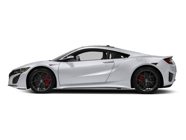 Casino White Pearl 2017 Acura NSX Pictures NSX Coupe photos side view