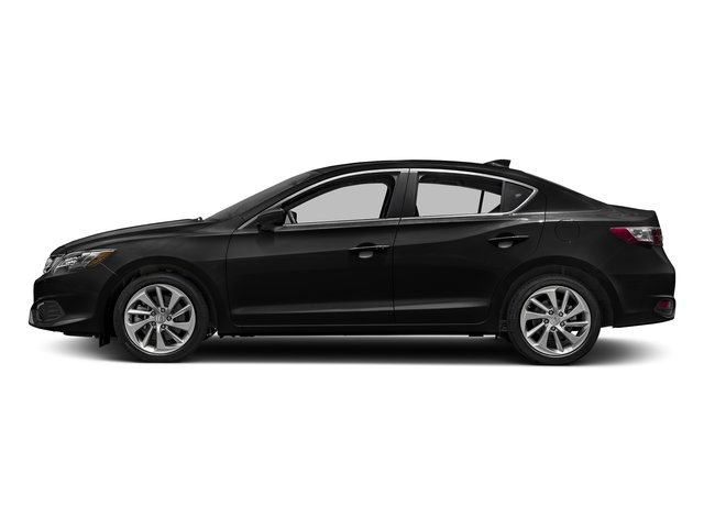 Crystal Black Pearl 2017 Acura ILX Pictures ILX Sedan w/AcuraWatch Plus photos side view