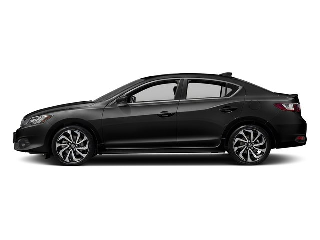 Crystal Black Pearl 2017 Acura ILX Pictures ILX Sedan w/Technology Plus/A-SPEC Pkg photos side view