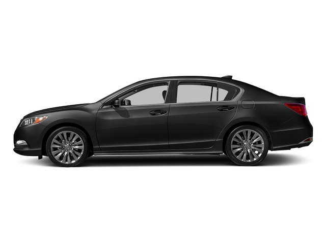 Crystal Black Pearl 2017 Acura RLX Pictures RLX Sedan w/Technology Pkg photos side view