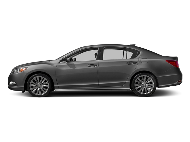 Graphite Luster Metallic 2017 Acura RLX Pictures RLX Sedan 4D Technology V6 photos side view