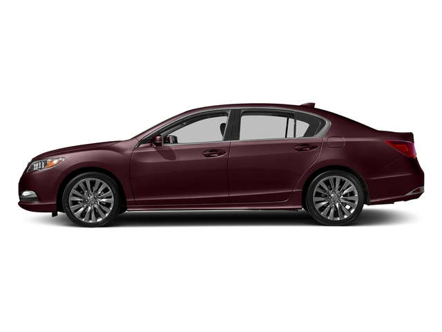 Pomegranate Pearl 2017 Acura RLX Pictures RLX Sedan w/Technology Pkg photos side view