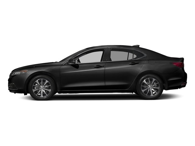 Crystal Black Pearl 2017 Acura TLX Pictures TLX Sedan 4D I4 photos side view