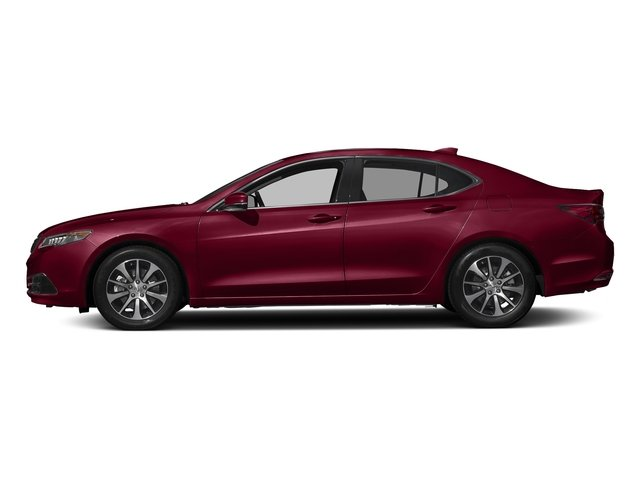 San Marino Red 2017 Acura TLX Pictures TLX FWD photos side view