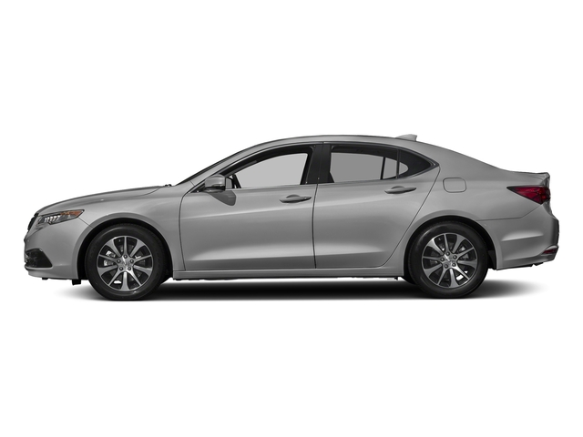 Lunar Silver Metallic 2017 Acura TLX Pictures TLX Sedan 4D I4 photos side view