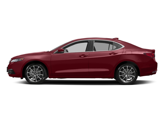 San Marino Red 2017 Acura TLX Pictures TLX Sedan 4D Technology AWD V6 photos side view