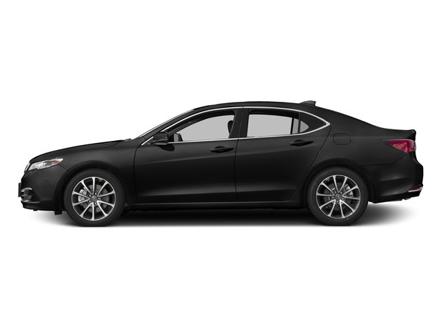 Crystal Black Pearl 2017 Acura TLX Pictures TLX Sedan 4D Advance AWD V6 photos side view