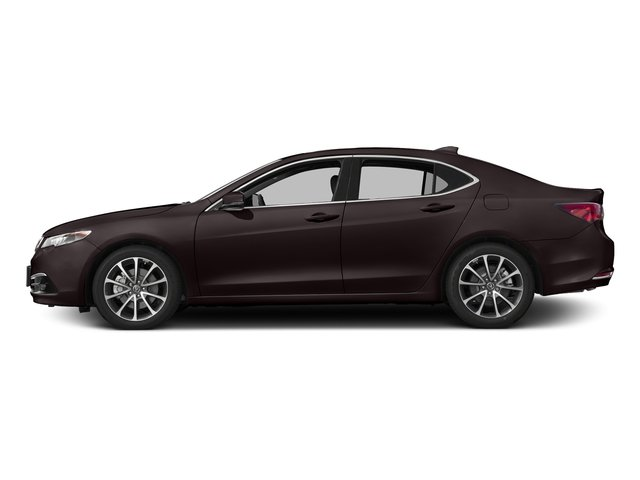 Black Copper Pearl 2017 Acura TLX Pictures TLX Sedan 4D Advance AWD V6 photos side view