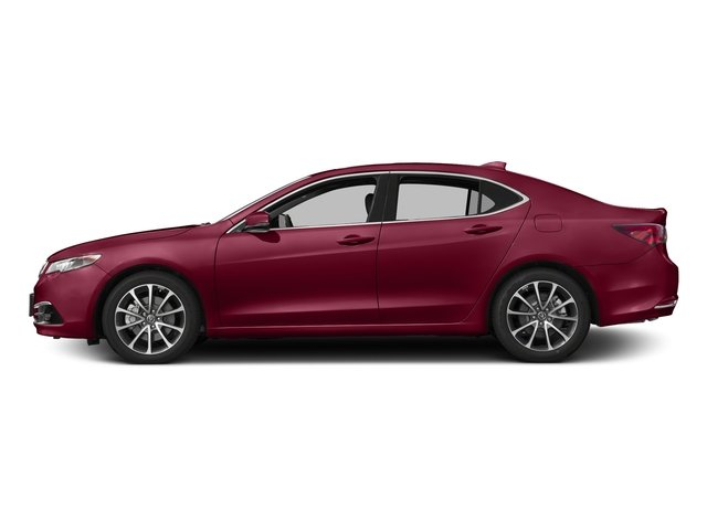San Marino Red 2017 Acura TLX Pictures TLX SH-AWD V6 w/Advance Pkg photos side view