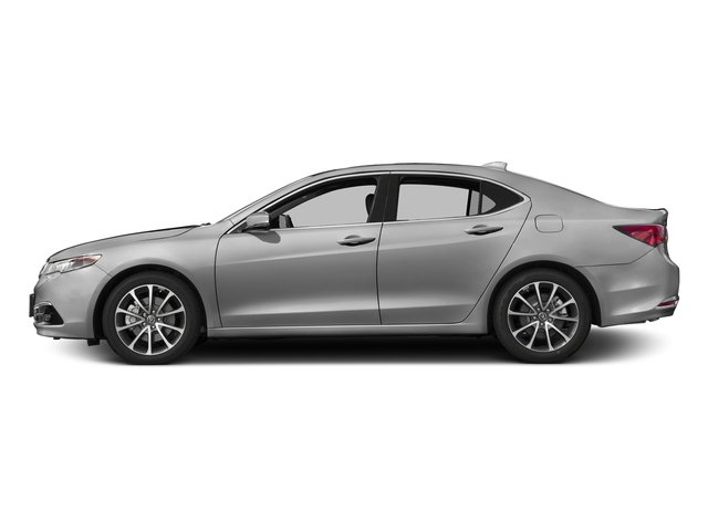 Lunar Silver Metallic 2017 Acura TLX Pictures TLX Sedan 4D Advance AWD V6 photos side view
