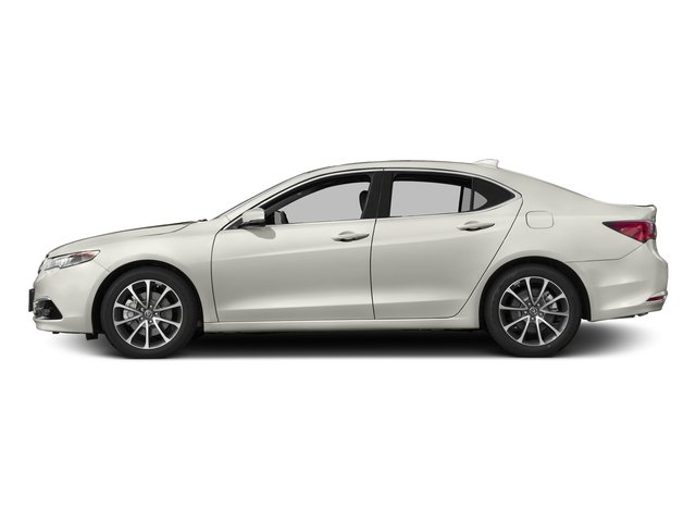 Bellanova White Pearl 2017 Acura TLX Pictures TLX Sedan 4D Advance AWD V6 photos side view