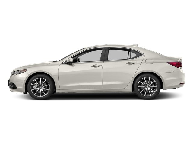 Bellanova White Pearl 2017 Acura TLX Pictures TLX Sedan 4D Advance V6 photos side view