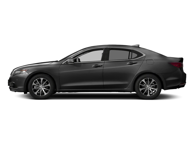 Modern Steel Metallic 2017 Acura TLX Pictures TLX Sedan 4D Technology I4 photos side view