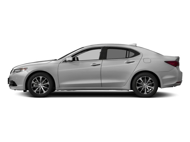 Lunar Silver Metallic 2017 Acura TLX Pictures TLX Sedan 4D Technology I4 photos side view