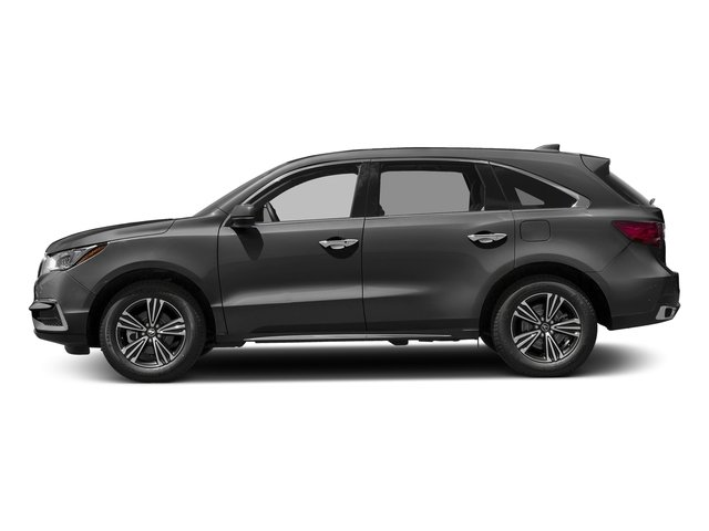 Modern Steel Metallic 2017 Acura MDX Pictures MDX Utility 4D AWD V6 photos side view