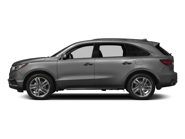 Modern Steel Metallic 2017 Acura MDX Pictures MDX Utility 4D Advance 2WD V6 photos side view