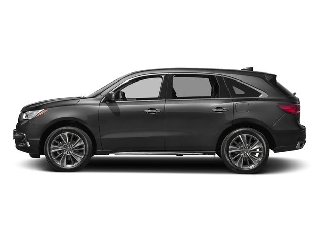 Modern Steel Metallic 2017 Acura MDX Pictures MDX Utility 4D Technology 2WD V6 photos side view