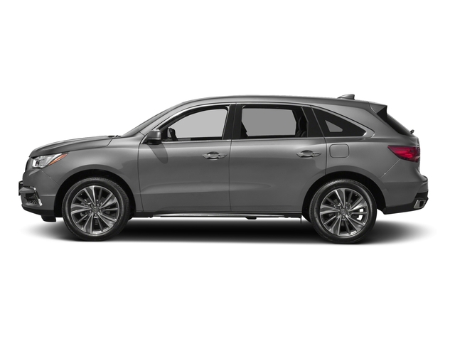 Lunar Silver Metallic 2017 Acura MDX Pictures MDX FWD w/Technology Pkg photos side view