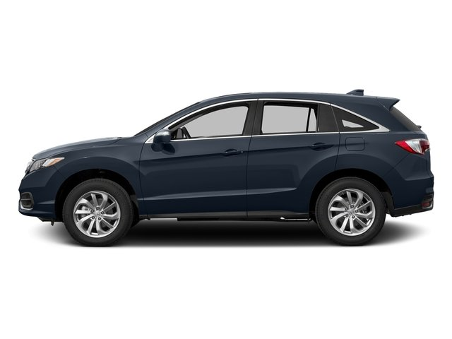 Fathom Blue Pearl 2017 Acura RDX Pictures RDX Utility 4D Technology AWD V6 photos side view