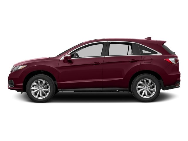 Basque Red Pearl II 2017 Acura RDX Pictures RDX AWD w/Technology Pkg photos side view