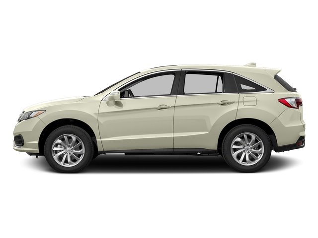 White Diamond Pearl 2017 Acura RDX Pictures RDX AWD w/Technology Pkg photos side view