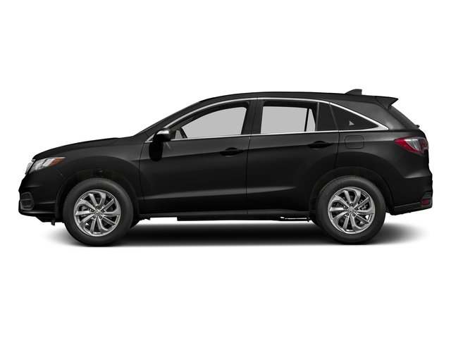 Crystal Black Pearl 2017 Acura RDX Pictures RDX AWD photos side view