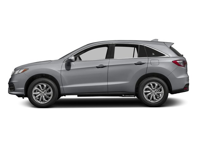 Lunar Silver Metallic 2017 Acura RDX Pictures RDX Utility 4D AWD V6 photos side view