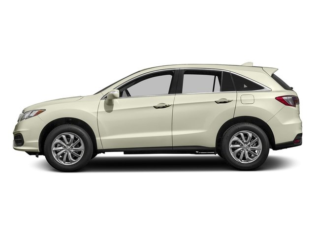 White Diamond Pearl 2017 Acura RDX Pictures RDX AWD photos side view