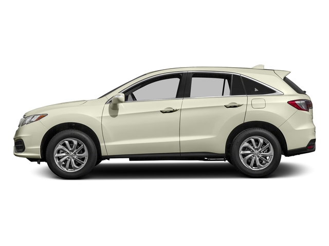 White Diamond Pearl 2017 Acura RDX Pictures RDX Utility 4D AWD V6 photos side view